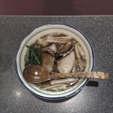 烈志笑魚油 麺香房 三く。(圖/自李佑群提供)