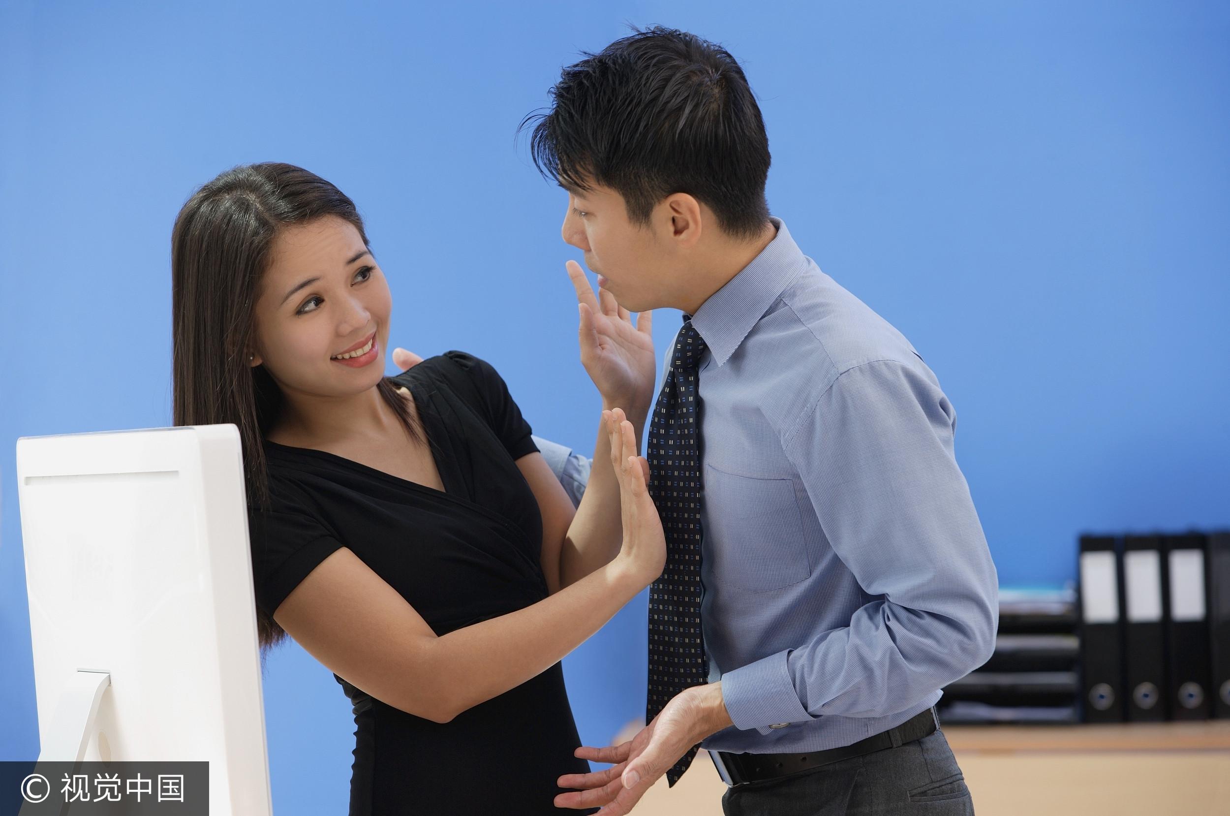 職場性騷擾,拒絕(圖/視覺中國CFP)
