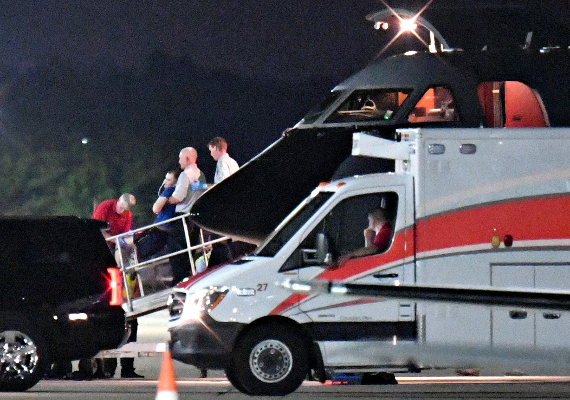 美大學生溫畢爾(Otto Warmbier)獲得北韓釋放,回國已成「神經受損」。(圖/路透社)