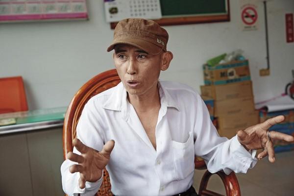 談到蛇禍,士林村村長徐正明面色凝重,請求放生團體別再來。