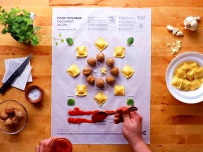 史上最好玩!IKEA「食譜著色畫」,填滿進烤箱就能變美食