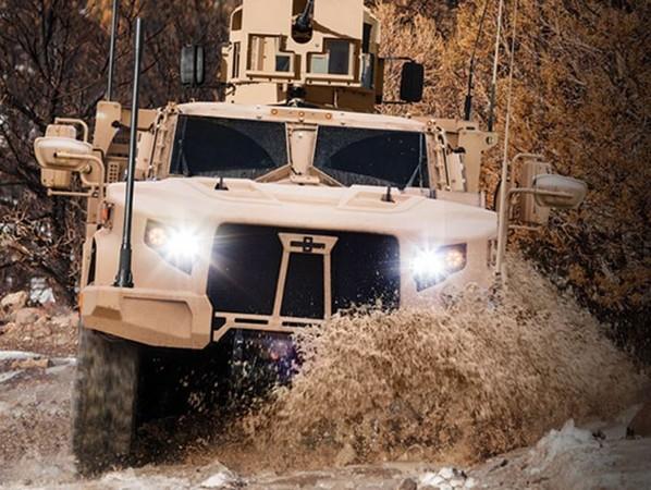 ▲▼聯合輕型戰術車輛(JLTV)。(圖/翻攝自奧希科什公司官網)