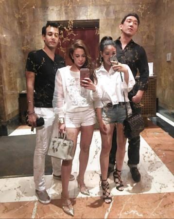 ▲▼《獨立報》報導香港富二代喜歡在社交軟體上炫富。(圖/翻攝自 ellyxxbean Instagram)