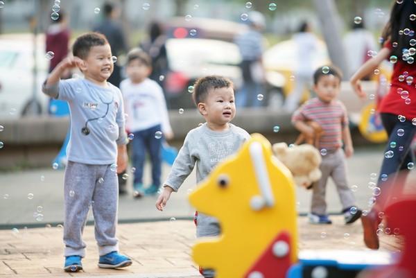 ▲嬰兒,親子,家長互動(圖/記者姜國輝攝)