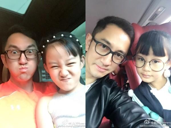 ▲吳啟華離婚3年,依舊堅持帶著女兒和前妻一起旅行。(圖/翻攝吳啟華微博)