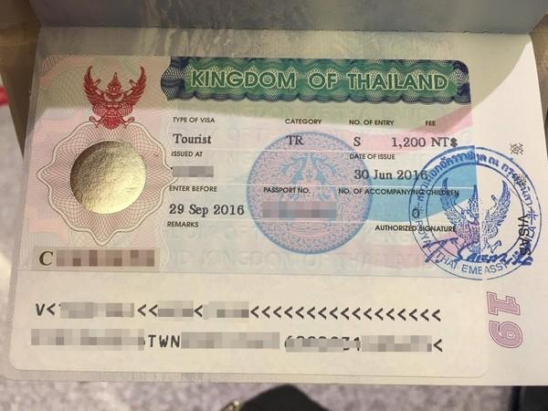 泰國簽證,泰國觀光簽證,泰簽(圖/記者蔡玟君攝)