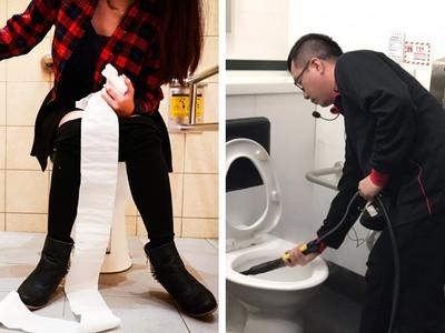 男掃女廁觀感不佳?網戰性別歧視:阿姨掃男廁就合理