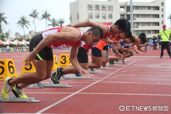 台東縣全縣運動會17日起一連二天在縣立體育場辦理,有包括田徑項目的1800位選手報名參加。(圖/台東縣政府提供)