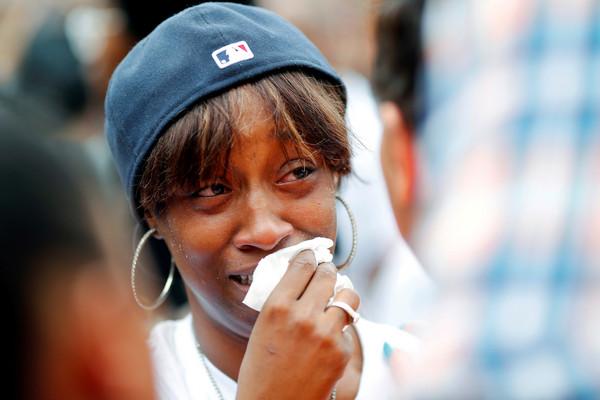 ▲▼射殺非裔美國人Philando Castile的警察被判無罪,民眾抗議。(圖/路透社)