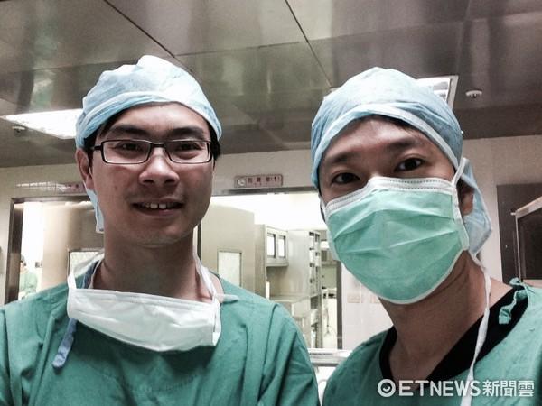 ▲蕭勝文醫師與Jerry Chan博士合影。(圖/蕭勝文醫師提供)