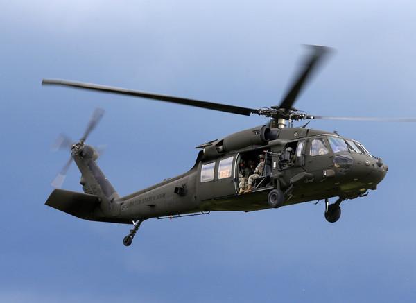 ▲▼美軍黑鷹直升機。(圖/路透社)