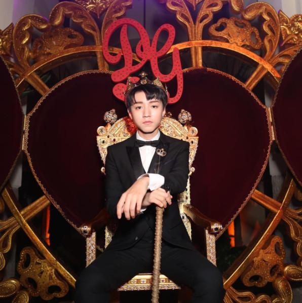 ▲米蘭男裝周--王俊凱為DOLCE&GABBANA走秀。(圖/翻攝DG IG)