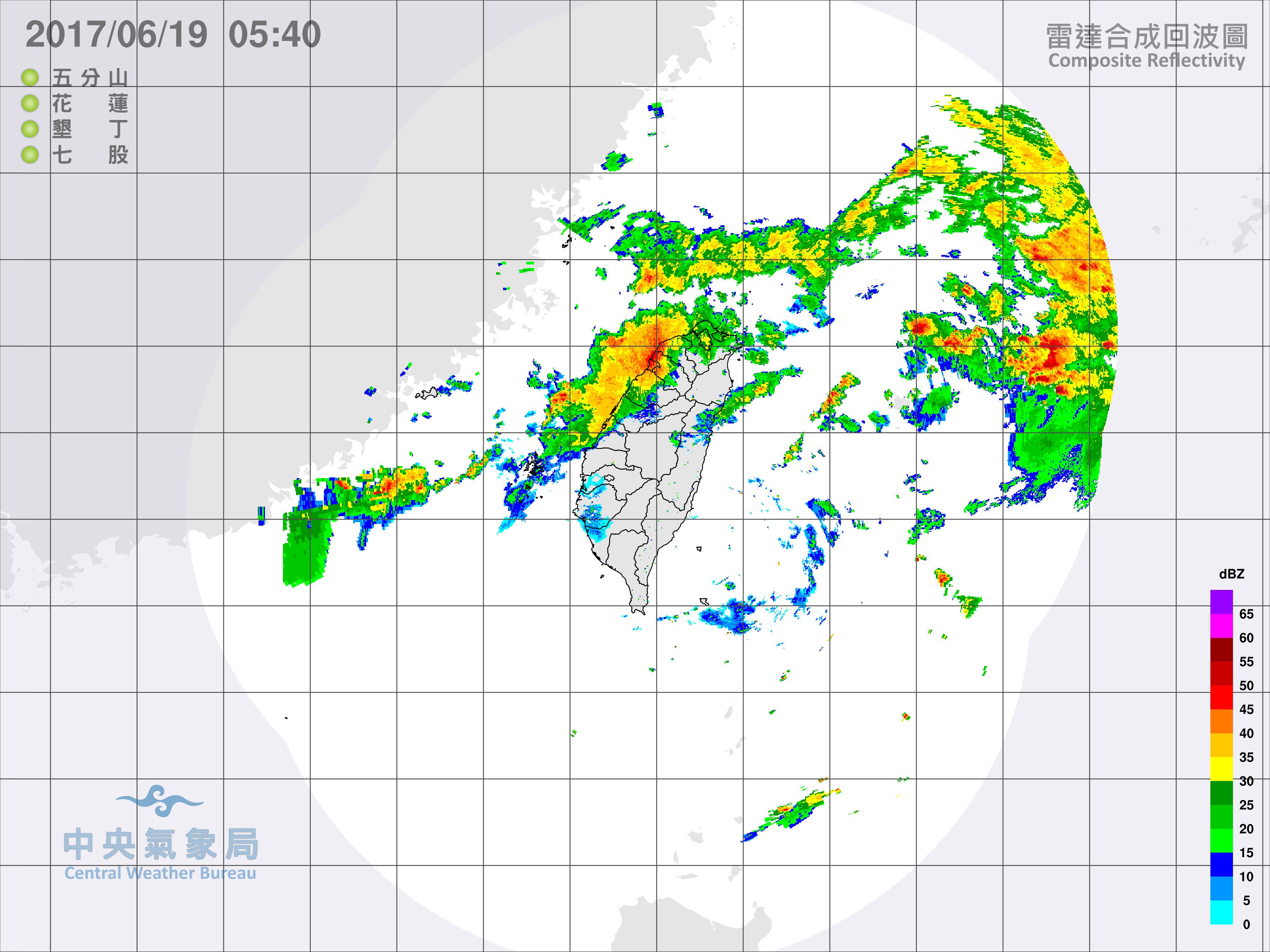 氣象圖。(圖/氣象局)