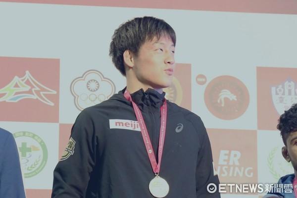▲▼            日本角力選手安樂龍馬 。(圖/記者洪偵源攝)