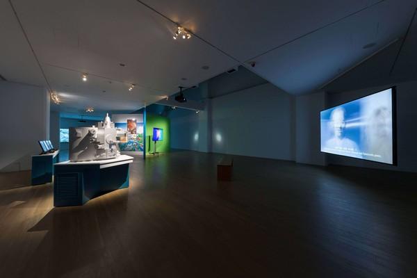 許家維「臺灣總督府工業研究所」個展現場。圖/ 尊彩藝術中心提供。