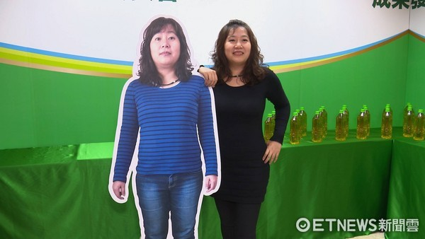 新「高兒茶素綠茶」減重法!小資女2個月狠甩6公斤!(圖/記者姜國輝攝)