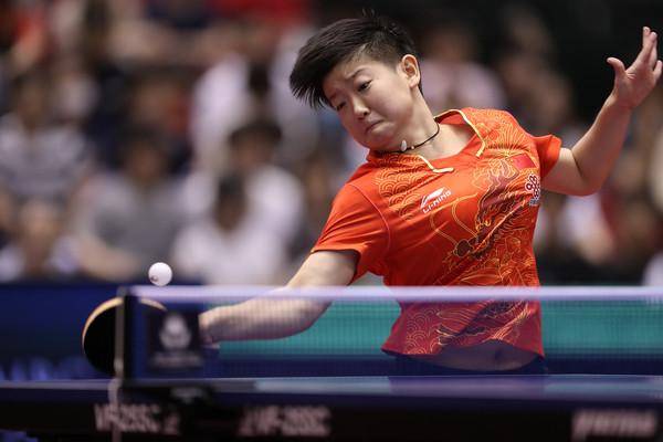 ▲中國孫穎莎。(圖/取自ITTF)