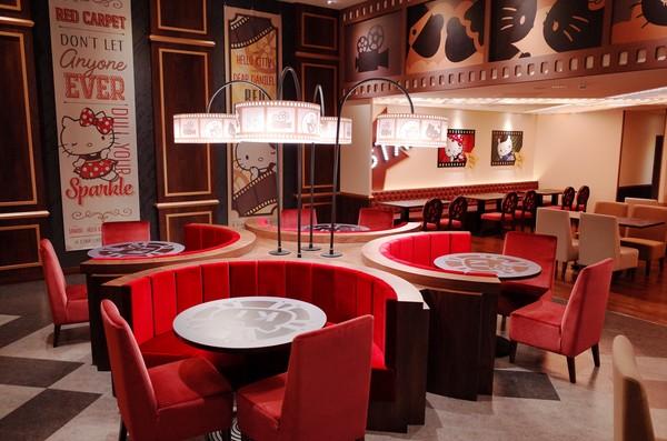 ▲林口威秀影城Hello Kitty Red carpet餐廳(圖/業者提供)