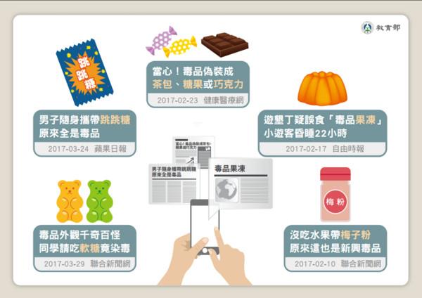 ▲▼教育部公布新型毒品懶人包。(圖/教育部提供)