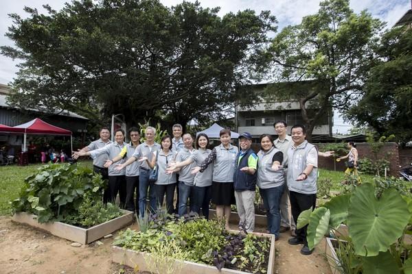 ▲社區改造再現新竹市美學新亮點。(圖/新竹市政府提供)