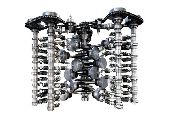 ▲▼汽車規格大解讀-引擎排列型式◆W型引擎             。(圖/記者車訊網攝)