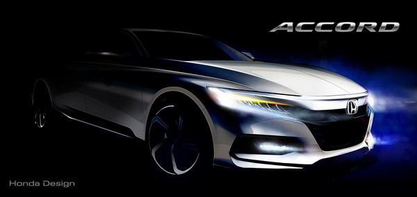 ▲十代本田Accord預告照率先曝光 華麗身型讓車迷搶聞香(圖/Honda)