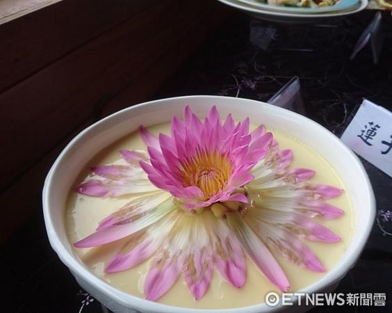▲创意莲花餐料理不仅好看而且更好吃。(图/记者杨炽兴摄)