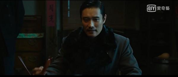 ▲李炳憲即使僅客串電影《密探》,卻是不容忽視的存在。(圖/愛奇藝)