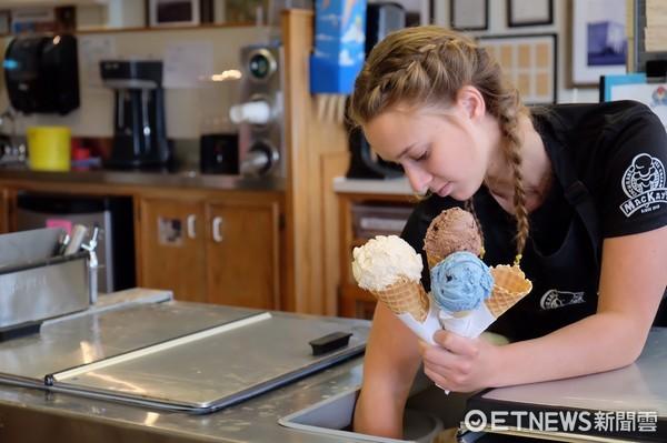 加拿大冰淇淋。(圖/記者于佳云攝)