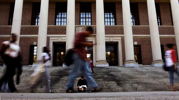 哈佛大學,美國,哈佛廣場(圖/視覺中國CFP)