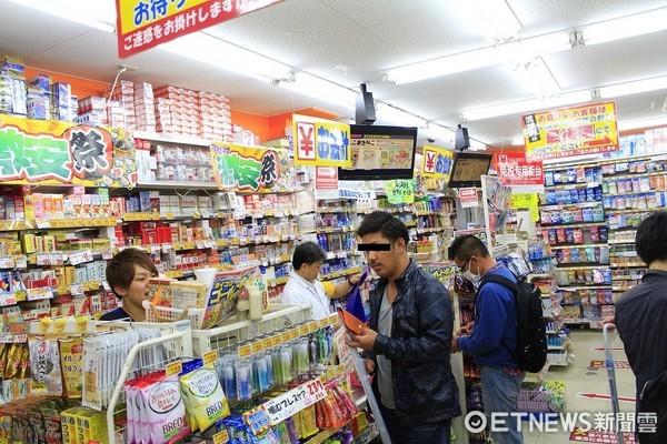 ▲▼日本藥妝店,免稅,退稅,日本免稅包裝,日本專用免稅包裝。(圖/記者蔡玟君攝)