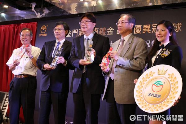 ▲金門高粱「國際鍍金」!酒品競賽壓倒2千多位對手。(圖/記者張慶輝攝)