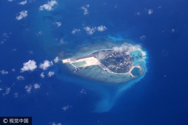 ▲▼中建島位於西沙群島西南處,是西沙群島最南端的島嶼,距離西沙群島永興島178公里。(圖/CFP)