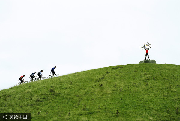 單車,腳踏車,競爭,成功,失敗,(圖/視覺中國CFP)