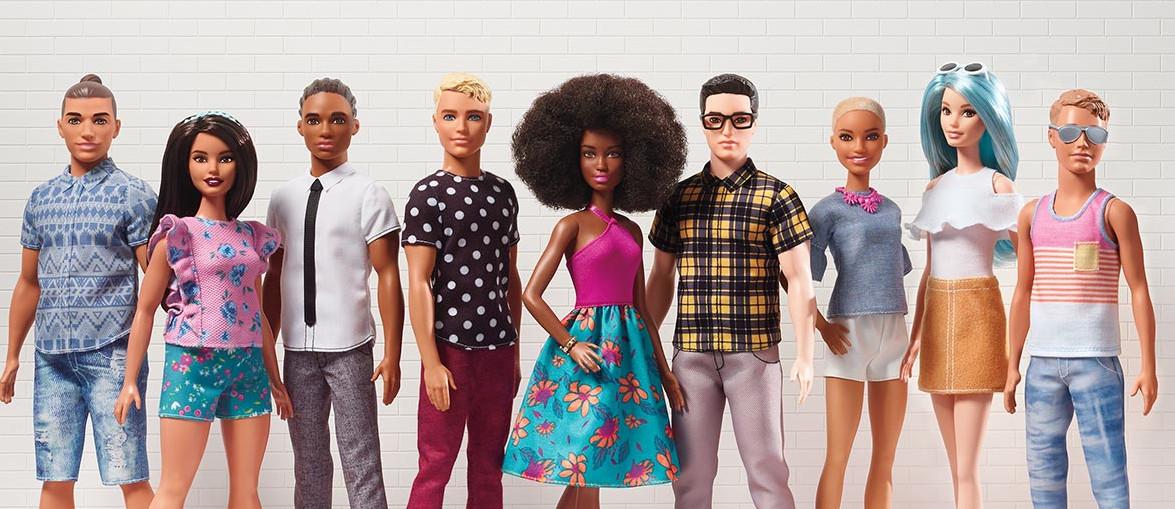 破除歧視!芭比推黑人、亞裔肯尼15款 網感動:終於不是洋腸(翻攝自芭比官網)