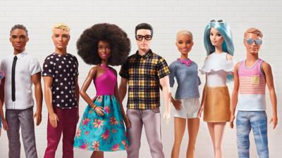 破除歧視!芭比推黑人、亞裔肯尼15款 網感動:終於不是洋腸