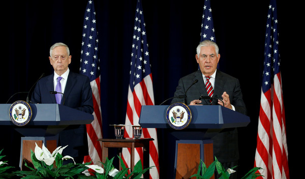 ▲▼ 美國與中國21日在華府舉行首輪「外交及安全對話」,談論朝鮮核武、南海主權問題。(圖/路透社)