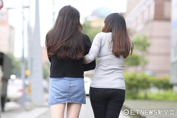 閨蜜、朋友、好姊妺、姊妹淘、同學(圖/記者黃克翔攝)