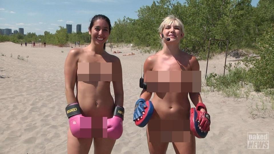 naked news(圖/翻攝自the sun)