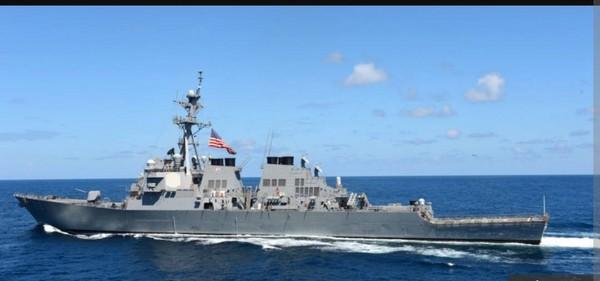 ▲費茲傑羅號船難。(圖/翻攝自美國海軍臉書。)