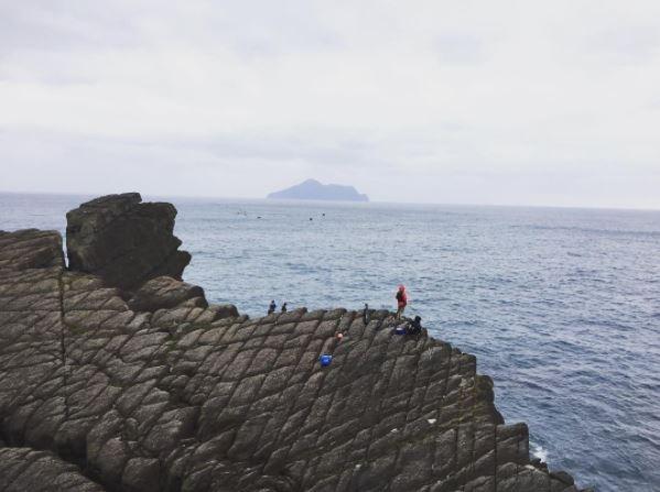 北關海潮公園的單面山。(圖/IG@pagewu提供)