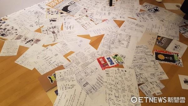 插畫家Cherng創作5年首辦個展 粉絲快來「貘」拜!(圖/記者洪菱鞠攝)