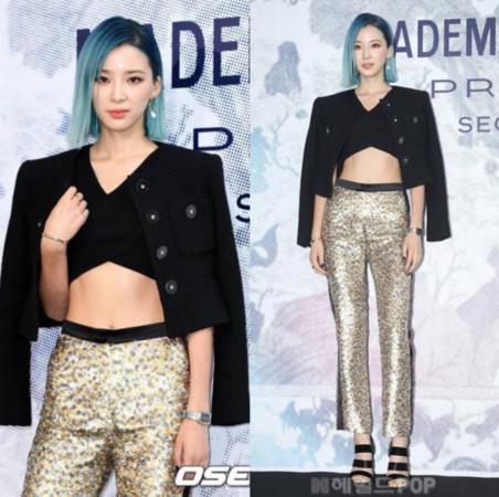 韓國模特Irene Kim露肚(圖/翻攝自ireneisgood IG)