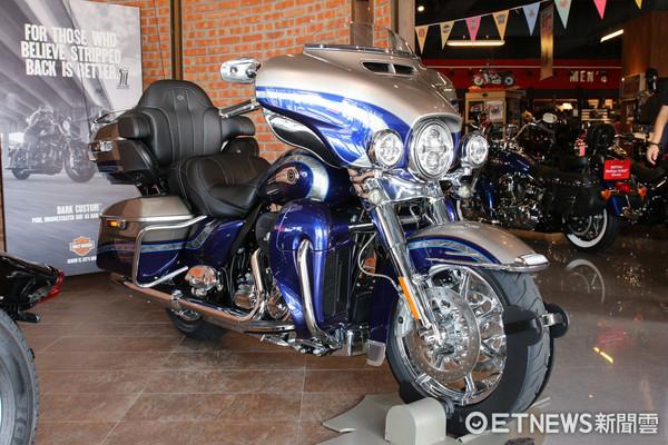 哈雷機車,哈雷,重機,機車,Harley-Davidson。(圖/記者張慶輝攝)