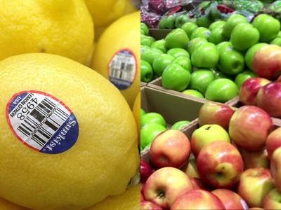 哪組水果上的「神秘號碼」特別好吃? 小農:都唬爛的啊