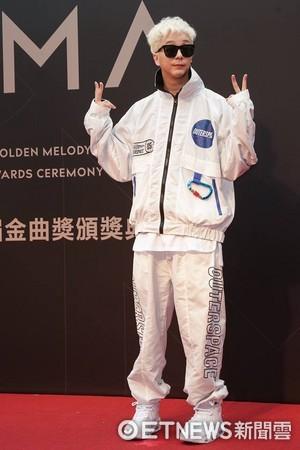 第28屆流行音樂金曲獎星光大道廖人帥。(圖/攝影中心攝)