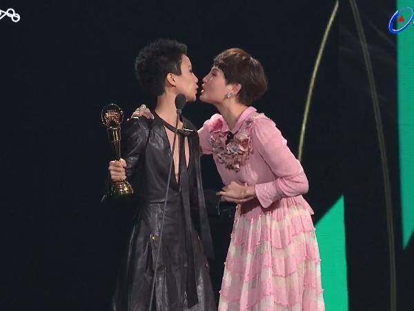 第28屆流行音樂金曲獎頒獎典禮盧凱彤。(圖/翻攝自YouTube)