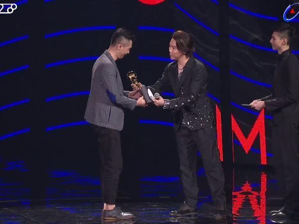 第28屆流行音樂金曲獎頒獎典禮陳君豪。(圖/翻攝自YouTube)