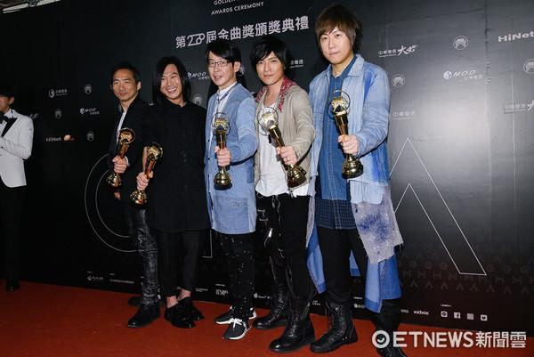 ▲▼第28屆金曲獎最佳國語專輯獎 -五月天。(圖/攝影中心攝)
