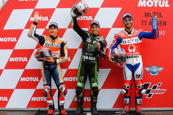 ▲Rossi重返「亞森王」寶座!MotoGP荷蘭站焦點。(圖/翻攝自MotoGP官網)